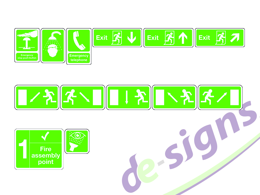 health safety de signs