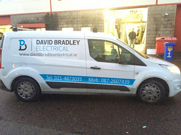 Vehicle Branding for David Bradley Electrical