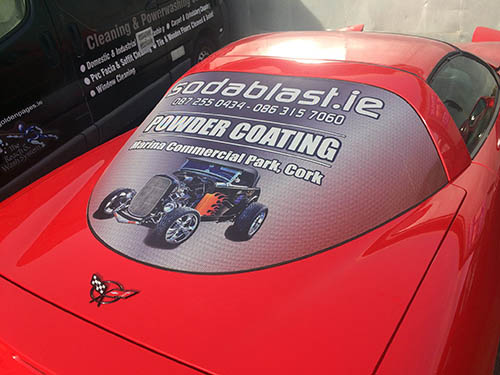 sodablast vehicle graphic wrap