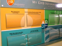 Information signs for GSK