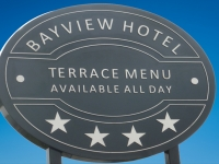Corporate Signage for Bayview Hotel