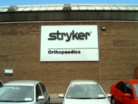Corporate branding for Stryker
