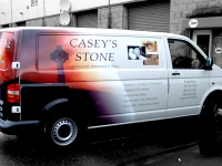 Partial Vehicle Wrap for Casey's Stone