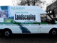 Partial Vehicle Wrap for Woodlands
