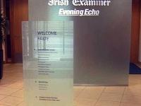 Glass Totem for Irish Examiner