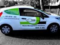 Vehicle Sign Writing for Ocon Chemicals