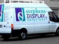 Vehicle Sign Writing for Stephens Display Services
