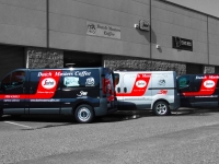 Vehicle Sign Writing for Dutch Masters Coffe